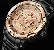 NAVIFORCE Masculino Relógio Esportivo Relógio Militar Relógio Elegante Relógio de Moda Relógio de Pulso Bracele Relógio Relógio Casual