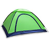 2 человека Световой тент Один экземляр Складной тент Однокомнатная Палатка 1000-1500 мм Стекловолокно ОксфордВодонепроницаемость