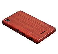 Cornmi for sony xperia t3 case caja de madera rosa walnut concha de madera hard back cover