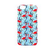 Für Hüllen Cover Mattiert Geprägt Muster Rückseitenabdeckung Hülle Flamingo Hart PC für AppleiPhone 7 plus iPhone 7 iPhone 6s Plus iPhone
