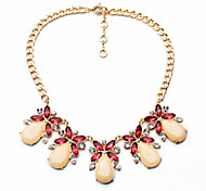 Women's Pendant Necklaces Drop Chrome Cute Style Red Jewelry For Halloween Christmas Gifts 1pc