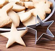 1Pcs  Baby Kid Kitchen DIY Star Shaped Cookies Cake Mould Cartoon Mousse Ring Baking Mold