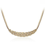 Rhinestone Short Necklace Collarbone Snake Chain Pendant Necklace Office Lady Jewelry for Women Movie Jewelry
