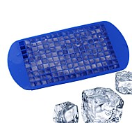 1Pcs  160 Grids DIY Creative Small Ice Cube Mold Square Shape Silicone Ice Tray Fruit Ice Cube Maker Bar Kitchen Accessories