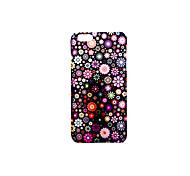 Für Hüllen Cover Mattiert Geprägt Muster Rückseitenabdeckung Hülle Blume Hart PC für AppleiPhone 7 plus iPhone 7 iPhone 6s Plus iPhone 6