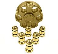 Fidget Spinner Hand Spinner Toys Metal New Hot Cartridge Bullet Gun Revolver Gift High Speed