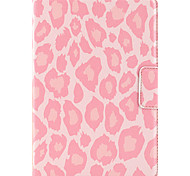 For Apple iPad Mini 3/2/1 Case Cover with Stand Auto Sleep / Wake Flip Magnetic Pattern Full Body Case Leopard Print Hard PU Leather