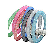 Fashion seven color Set  BraceletSet