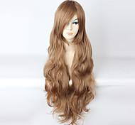 Lolita Wigs Sweet Lolita Brown Lolita Long Curly Lolita Wig 85 CM Cosplay Wigs Wig 147