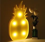 3d led night light ананас ночной светильник романтический настольный светильник шатер дом рождественский декор батарея вел ночник