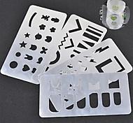 1 Стемпинг Пластины изображения шаблона Стампер скреперов