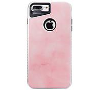 Для iphone 7plus 7 tpu plus pc dijiao мраморная модель двух-в-одном корпусе телефона 6s плюс 6plus 6s 6 se 5s 5