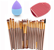 Пуховка для пудры/Бьюти-блендер Кисти для макияжа Кисти и очистители Сухие Неровный тон кожи Другое