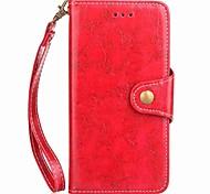Для xiaomi redmi note 4 примечание 4x чехол для карточек с бумажным карманом с ручным ремешком флип магнитный чехол сплошной цвет pu кожа