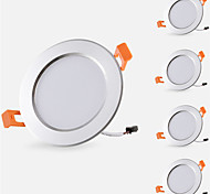 LED a incasso Bianco caldo Luce fredda Luci Pendenti LED 5 pezzi