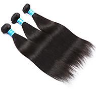 Ciocche a onde capelli veri Vietnamita dritto 12 mesi 3 pezzi tesse capelli