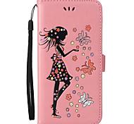 Для iphone 7 плюс 7 футляр для карточек с держателем для карточек с подставкой с флип-тиснением с корпусом из натуральной кожи сексуальная