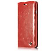 Для iphone7 плюс магнитные флип телефонные чехлы для iphone7 роскошный чехол из натуральной кожи футляр
