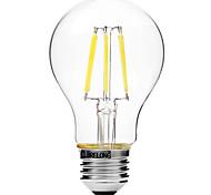 6W Lampadine LED a incandescenza A60(A19) 6 COB 450 lm Bianco caldo Bianco Oscurabile V 1 pezzo