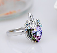 Women's Ring Jewelry Euramerican Fashion Crystal Alloy Jewelry Jewelry 147 Birthday Event/Party Other