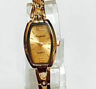 Women's Ladies' Wrist watch Bracelet Watch Chinese Quartz Alloy Band Casual Rose Gold