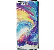 Для huawei mate 8 mate 9 pro чехол чехол яркий рыбий рисунок рельеф tpu материал корпус для телефона p10 p9 p8 lite 2017 6x nova v9