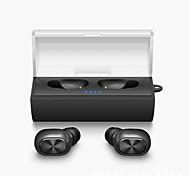 Мини-близнецы истинный беспроводной наушник bluetooth tws стерео музыка airpods стиль в наушниках для наушников fone de ouvido с зарядным