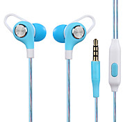 JY-A6 In-Ear Stereo Earphone Game Headset Computer Headset Running Headset with Wheat Wire Control High-Fidelity Monitor Headset