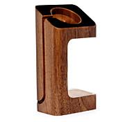 Happytu Watch Stand para apple watch series 1 2 cabo de madeira 38mm / 42mm não inclui