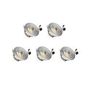 LED даунлайт Тёплый белый Холодный белый Светодиодные лампы Светодиодная лампа 5