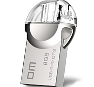 Dm pd002 8gb otg usb usb 2.0 flash drive u disco para la tableta androide tablet pc