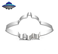 Space Universe UFO Spaceship Cookies Cutter Stainless Steel Biscuit Cake Mold Metal Kitchen Fondant Baking Tools