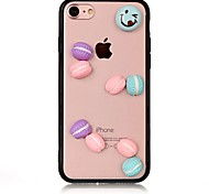 Case for Apple iPhone 7 7 Plus iPhone 6s 6 Plus Case Cover The Cookies Pattern with Acrylic Cases