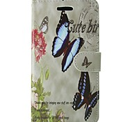 For Samsung Galaxy A5 2017 A3 2017 Case Cover Butterfly Rose Body Cover with Card and Booth A3 2016 A5 2016 A3 A5