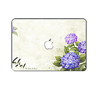 For MacBook Pro Air 11 13 15 Inch Laptop Cases Plastic Protective Shell Flower Pattern Ornament Cover H2242
