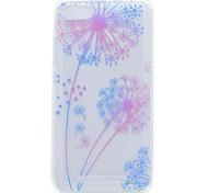 For Wiko Lenny 3 Lenny 2 Case Cover Transparent Pattern Back Cover Case Dandelion Soft TPU Case