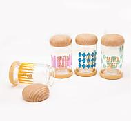 Daily Glass To-Go 200ML Lovely Mushroom Drinkware/Tea Water/Tumbler Gift 1PC