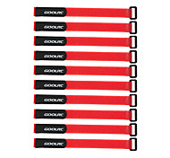 GoolRC 10 Pcs Strong RC Battery Antiskid Cable Tie Down Straps 26*2cm Black