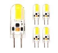 2W Двухштырьковые LED лампы T 1 COB 180 lm Тёплый белый Холодный белый V 5