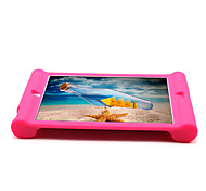 For Apple iPad Air 2 Case Cover Shockproof Back Cover Case Solid Color Soft Silicone