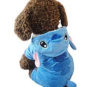 Собака Костюмы Одежда для собак Косплей Животные Синий