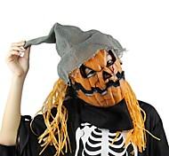 Хэллоуин маска тыквы пугало маска жуткий латекс реалистичный сумасшедший резиновый супер жуткая партия Хэллоуин костюм маска