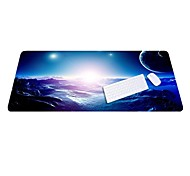 Lo6 Blue Mouse Pad Oversized Thicker  Lock Keypad Pad  Rubber Cloth 100 * 50cm