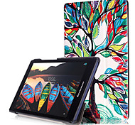 Print Case Cover for Lenovo Tab3 Tab 3 8 850 TB3-850F TB3-850M with Screen Protector