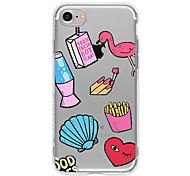 Случай для телефона iphone 7 плюс iphone 6 шаржа мобильного телефона мягкого для iphone 7 iphone 6 / 6s плюс iphone 6 / 6s iphone5 5s se