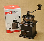 Small Wooden Hand Grinding Coffee Grinder Machine