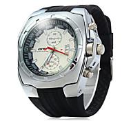 Муж. Спортивные часы Нарядные часы Модные часы Китайский Кварцевый Календарь Pезина Группа Cool Повседневная Черный