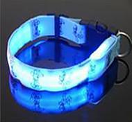 Collar Portable Adjustable LED Light Cartoon Nylon