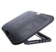 Регулируемая подставка Складной Другое для ноутбука Macbook Ноутбук Стенд с адаптером Подставка с охлаждающим вентилятором Металл