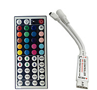 Mini 24 keys RGB IR Remote Controller for 3528 or 5050 RGB LED Strips Small RGB Controller Free Shipping